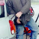 A Piana Biglini torna in funzione il distributore di metano
