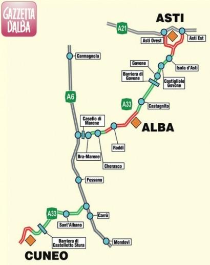 Autostrada Asti-Cuneo: il Cipe non decide