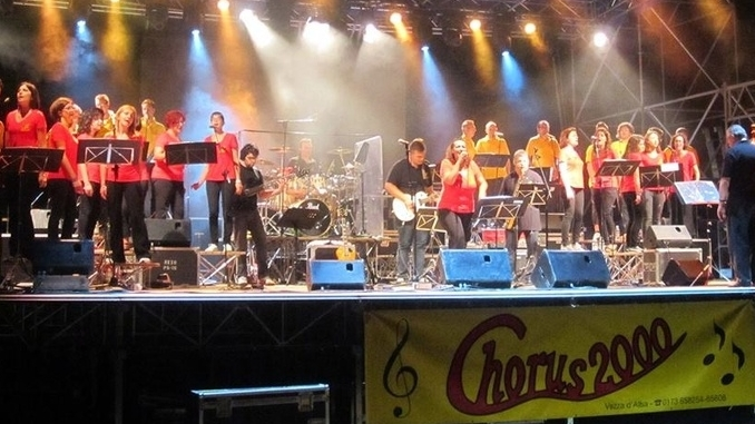 I Chorus 2000 al teatro di Alba, sabatao 10 dicembre, con Confartigianato