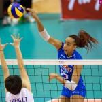 Pallavolo:  Italia agli ottavi. 9 punti per Bonifacio