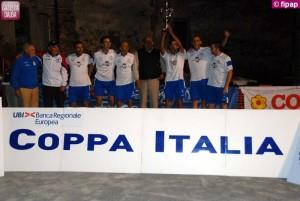 La Castagnolese ha vinto la coppa Italia di serie B.