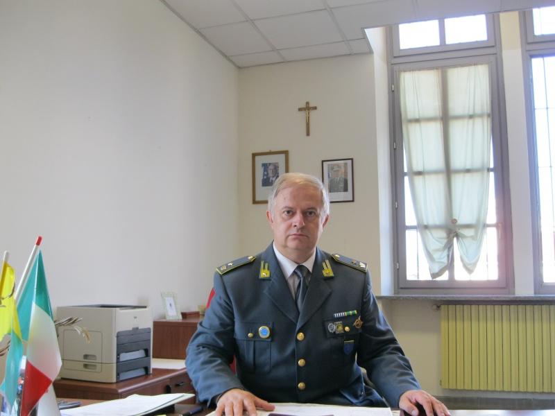 Giuseppe Astre comandante finanza Bra
