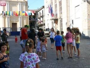 festa in piazza bimbi