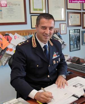 Il vicequestore aggiunto Franco Fabbri, a capo della Polizia stradale della Granda.
