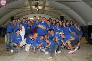 Gli organizzatori, i volontari di Priocca del futuro.