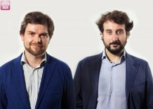 Filippo Margiaria e Paolo Giangrasso