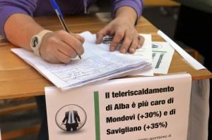 Firme petizione teleriscaldamento