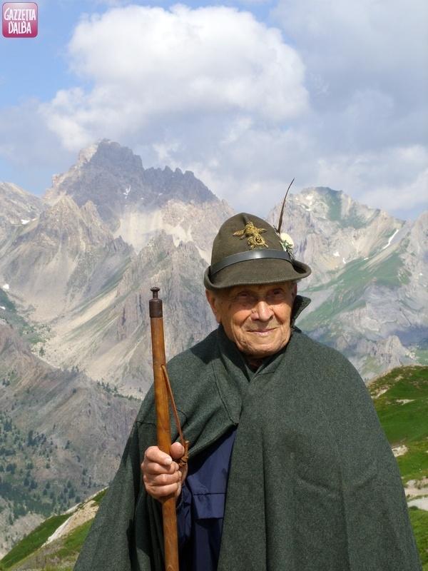 Giovanni Alutto al passo Gardetta