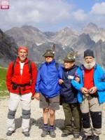Giovanni Alutto e amici al passo Gardetta
