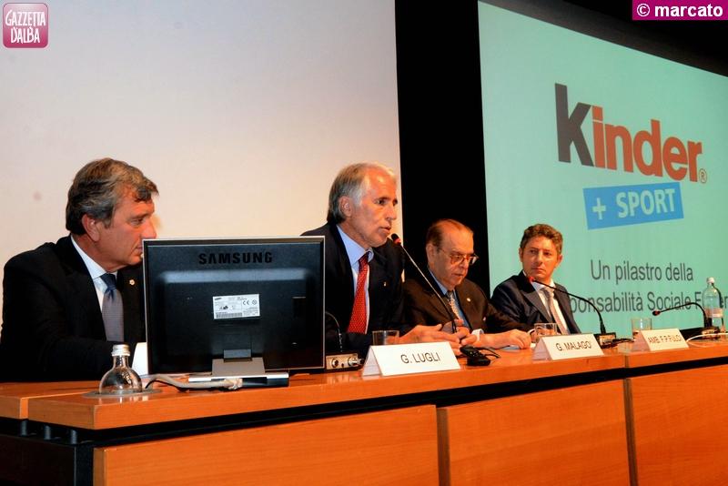 Il Piemonte vince il trofeo Coni Kinder+Sport