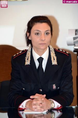 Serena Galvagno - comandante carabinieri Alba - 1