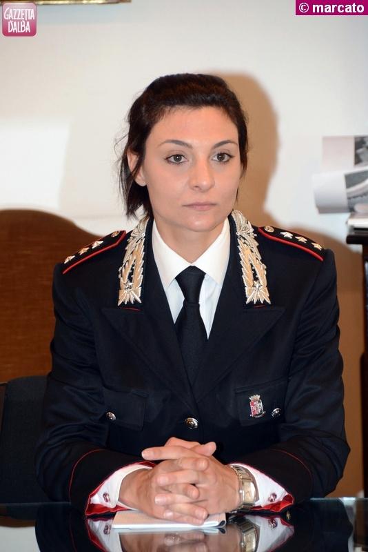 Serena Galvagno – comandante carabinieri Alba – 1