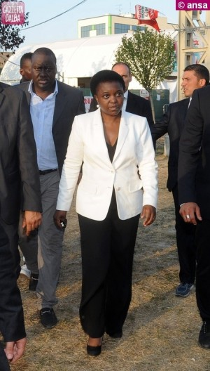ministro Cecile Kyenge