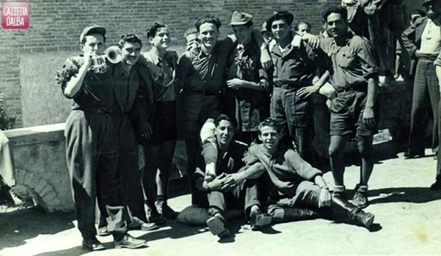 I partigiani della brigata Matteotti.