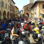 Raduno di Vespe a Carmagnola e Caramagna