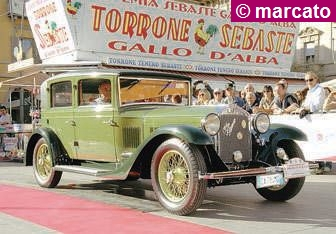 Giropizza con le auto storiche tra Cisterna e San Damiano d'Asti
