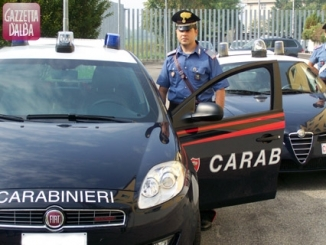 I Carabinieri in visita all'asilo di Macellai