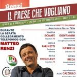 Un dibattito su economia e politica per sostenere Matteo Renzi