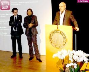 Edoardo Borra, Margherita Fenoglio e Maurizio Marello