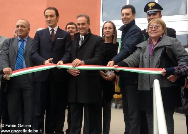 Inaugurazione scuola media di Cortemilia (foto Fabio Gallina)