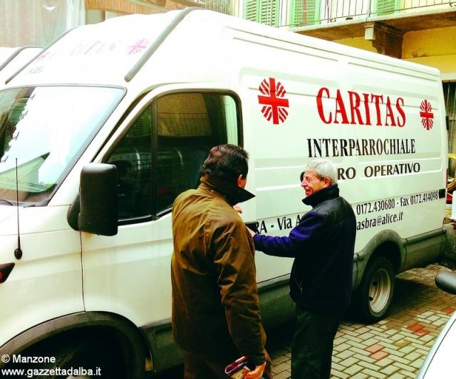 bra caritas furgone