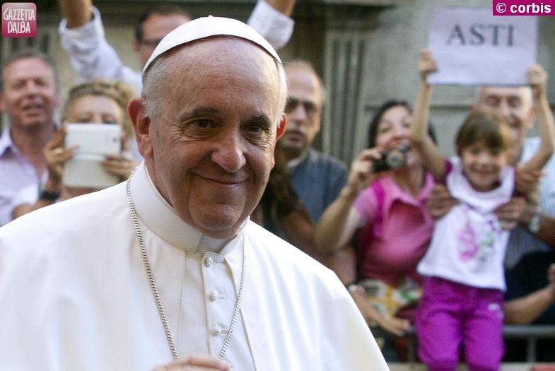 papa francesco ritaglio