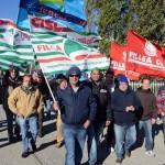 Protesta alla Piessegi: i lavoratori chiedono il Tfr