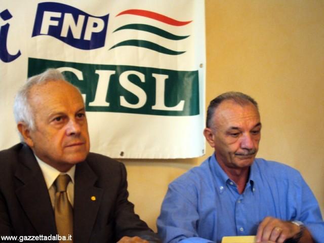 Da sinistra: Gian Carlo Panero, Rinaldo Olocco.