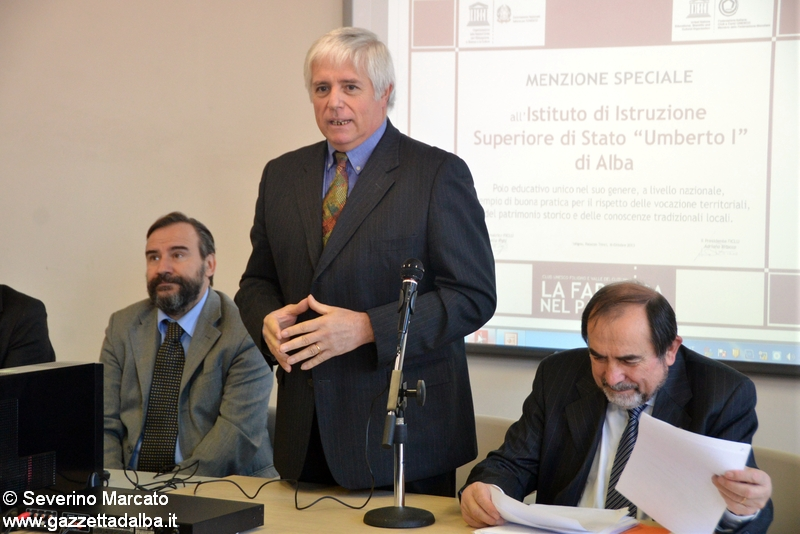 Renato Parisio Preside Enologica