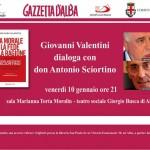 La nuova Chiesa di papa Francesco: il 10 gennaio un incontro al Teatro sociale di Alba
