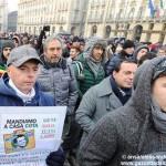 Torino nel caos per la protesta dei forconi: il racconto di Gazzetta d'Alba