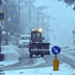 Neve in Piemonte, 60 centimetri nel cuneese