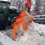 Meteo, neve in arrivo anche sulla pianura cuneese