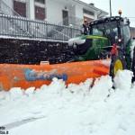 Aria fredda dalla Scandinavia: neve a 700 metri