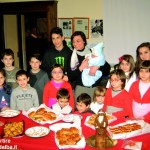 Alba: le famiglie dei Carabinieri in visita alla mostra dei presepi