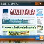 Gazzetta d'Alba in tv! Ogni martedì mattina la rassegna stampa su Rai Tre