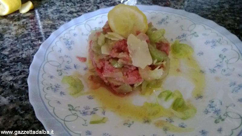 G Cucina presenta... Battuta di carne Alba style