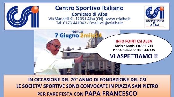 Locandina Papa – VIAGGIO 7 Giugno taglio