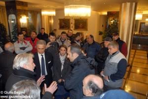 I carrozzieri incontrano l'onorevole Enrico Costa.