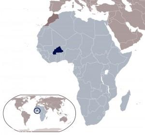 Dove si trova il Burkina Faso.