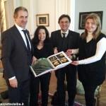 Unesco: la candidatura di Langhe-Roero e Monferrato a Parigi dall'Ambasciatore