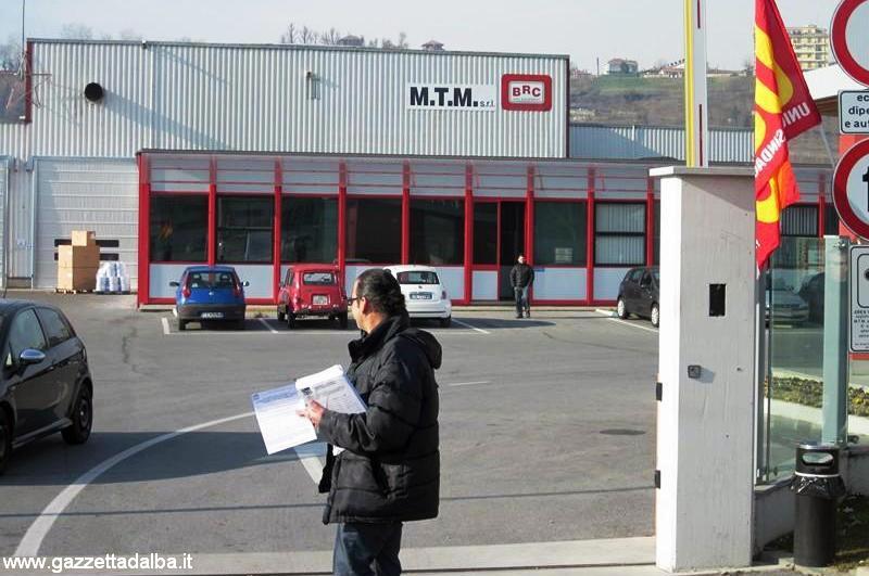 Quattro ore di sciopero alla Mtm-Brc di Cherasco