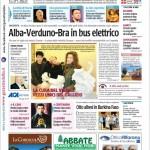 ANTEPRIMA. La copertina di Gazzetta d'Alba in edicola da martedì 18 febbraio 2014