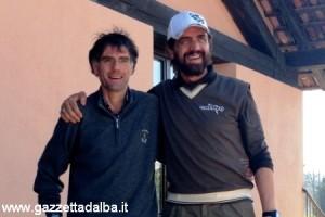 Corrado Graglia direttore del Golf club Cherasco e Valerio Staffelli_taglio