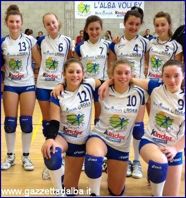 L'Alba Volley U13 vincitrice del Torneo Lingotto Torino