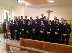 Precetto pasquale Carabinieri Bra