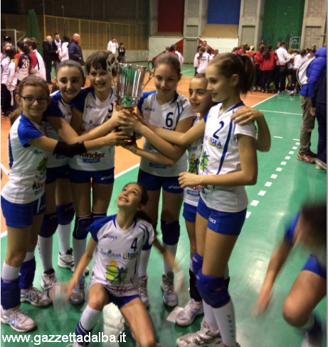UNDER 12 L'ALBA VOLLEY VINCITRICE DEL TORNEO DI ACQUI