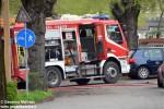 Cherasco: due auto in fiamme in un garage di Cappellazzo