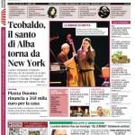 ANTEPRIMA. La copertina di Gazzetta d'Alba in edicola da martedì 11 marzo 2014