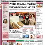 ANTEPRIMA. La copertina di Gazzetta d'Alba in edicola da martedì 25 marzo 2014
